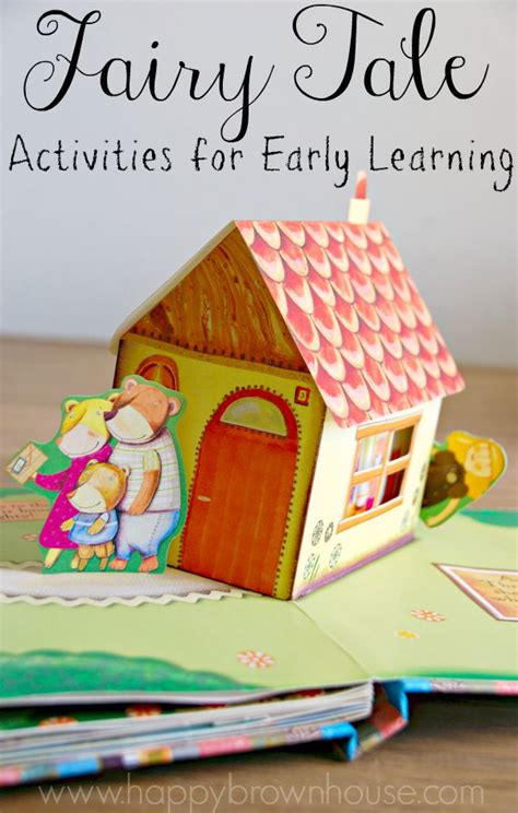 story book themes for preschool fairy tale activities for early learning happy brown house