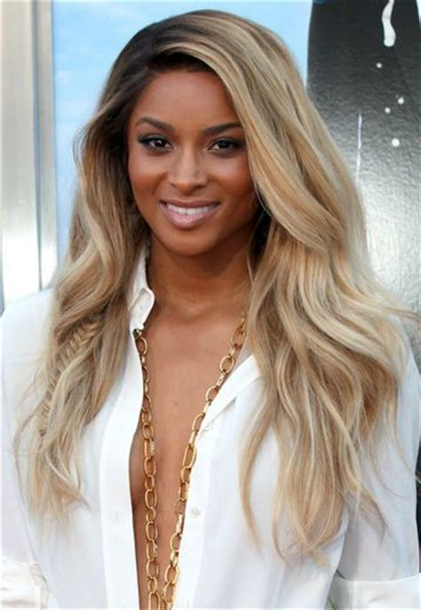 blonde hair with dark roots ciara blond with dark roots via essence com beaut 233