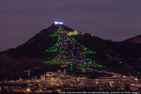 gubbio italy celebrates christmas better than anyone else