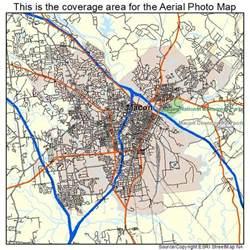 aerial photography map of macon ga