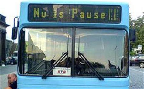 busfahrermagazin fahrzielanzeiger mal ganz anders