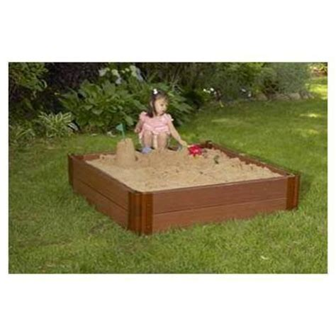home depot sand box outside play