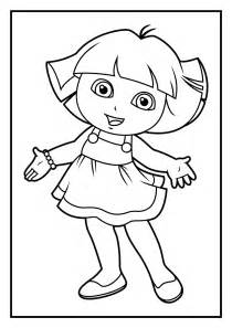 dora explorer coloring pages coloring pages
