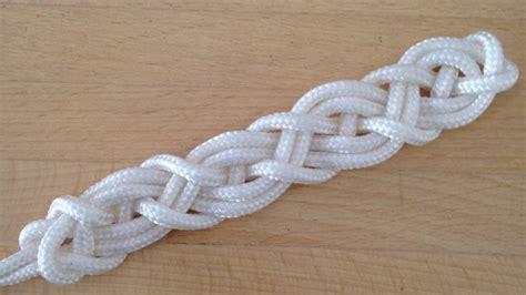 Craft Knots - how to tie a celtic bar for bracelets or belts diy