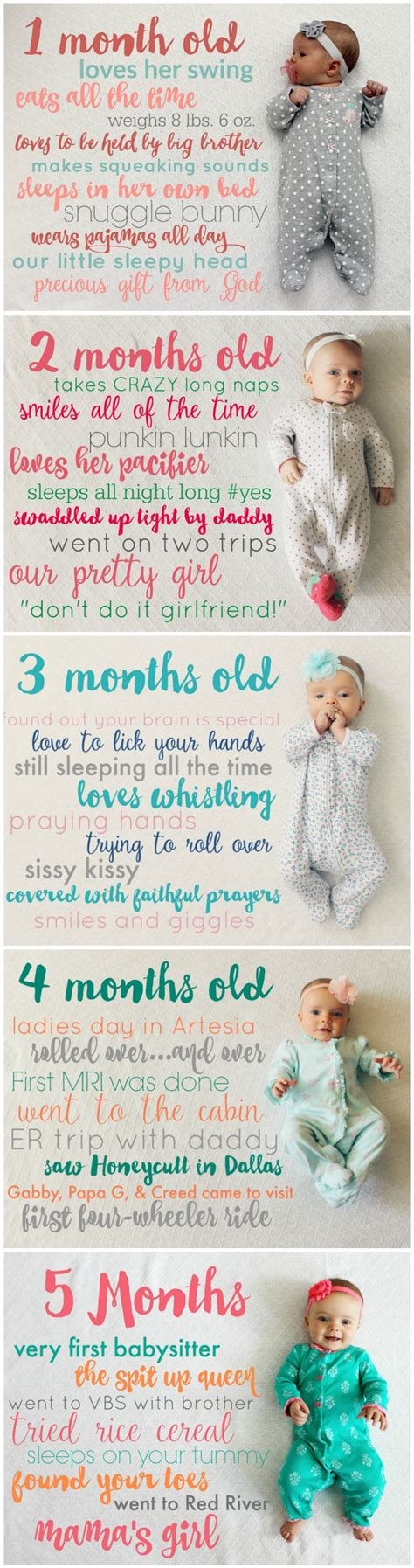 baby pictures creative monthly baby picture ideas child at