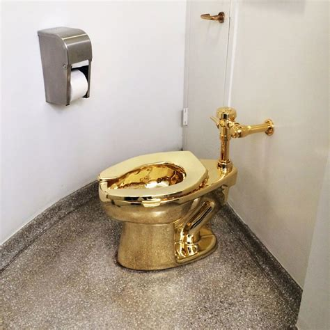 golden toilet gold toilet the new yorker