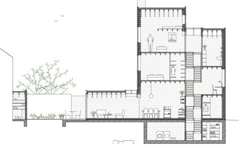 section office casa 12k dierendonck blancke architecten archdaily brasil