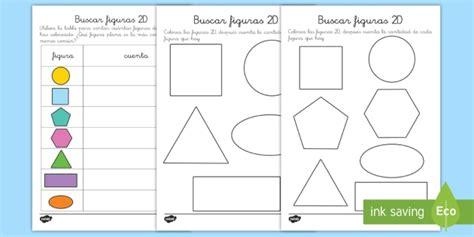figuras geometricas de 4 lados ficha de actividad b 250 squeda de figuras planas ficha
