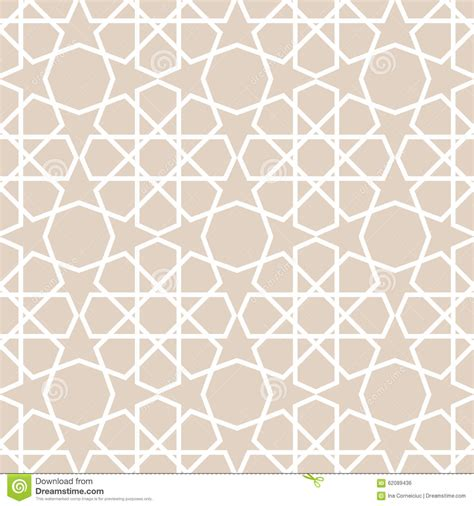 arabic seamless pattern arabic pattern seamless vector background stock vector