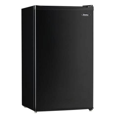 danby 3 3 cu ft mini refrigerator in black dcr033a1bdb