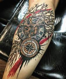 compass tattoo meanings ink vivo