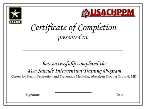sle course completion certificate template 28 ojt certificate of completion template ojt