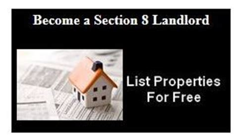 becoming a section 8 landlord hud application online apply for housing