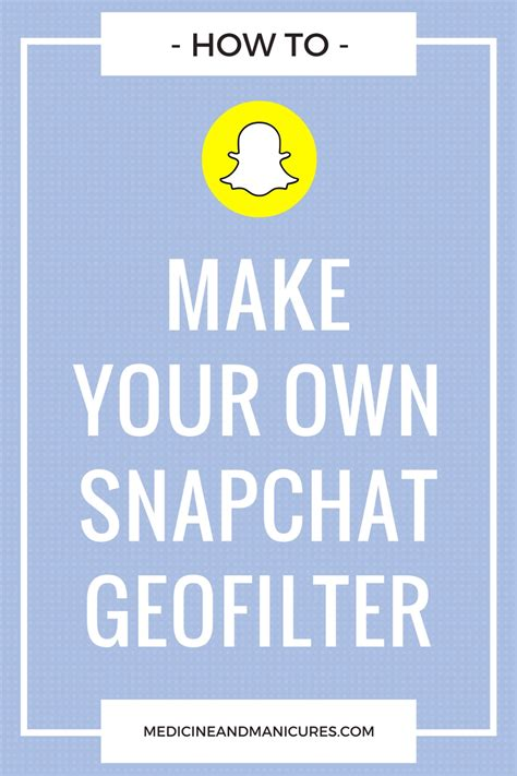 how to make your own snapchat geofilter without photoshop