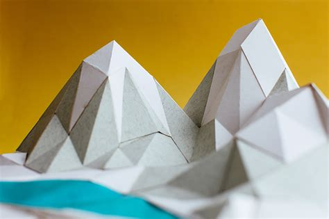 How To Make Mountain With Paper - how to make almost anything