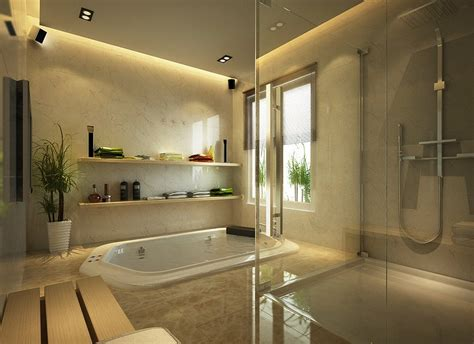 in ground bathtub in ground tub bathroom interior design ideas