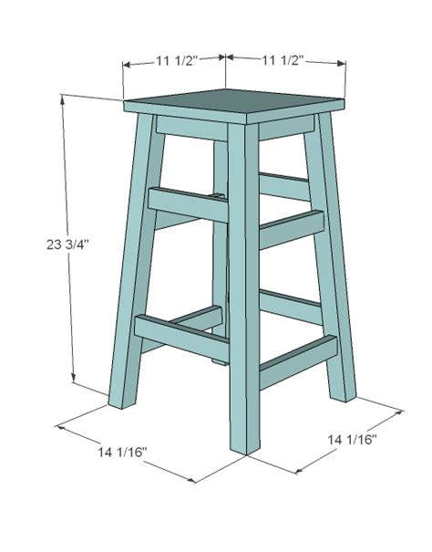 Make A Stool white simplest stool diy projects