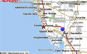 map venice florida area area map