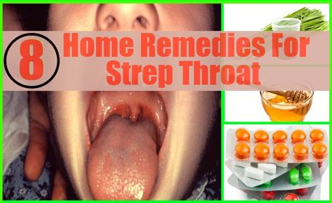 8 effective home remedies for strep throat care health