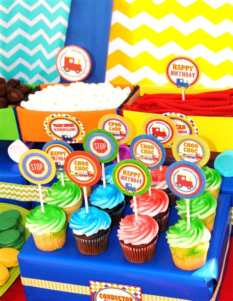 train birthday party complete train party train krown kreations celebrations