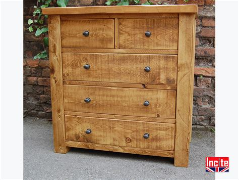 Handcrafted Wood Bedroom Furniture - handcrafted plank pine chest of drawers by incite derby