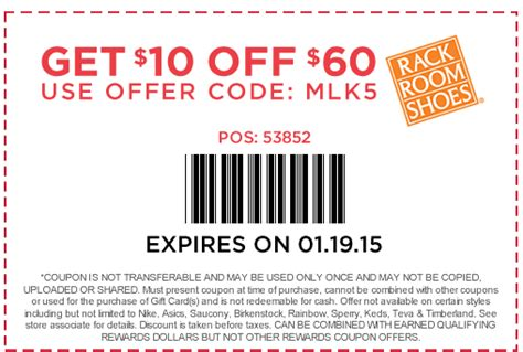 Www Rackroomshoes Com Gift Cards - 10 rack room coupon expires january 19 2015