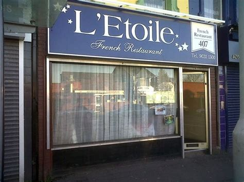 Etoile Delfas l etoile restaurant ormeau road belfast home belfast restaurant and roads