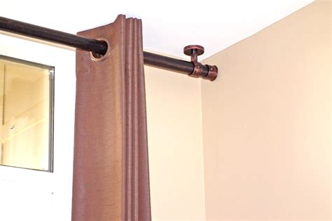 curtain rod ceiling mount drapery installation toronto mississauga brton