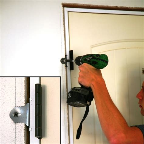 Hanging Doors Troubleshooting by Door Kicked In Repair Fixing Damaged Door Jamb With