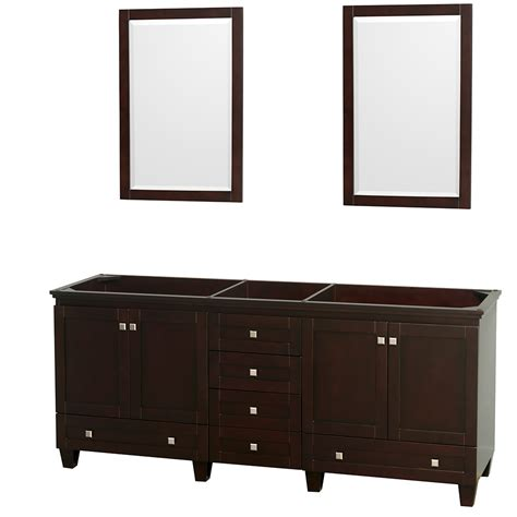 80 inch double sink bathroom vanity wyndham collection wcv800080descxsxxm24 acclaim 80 inch