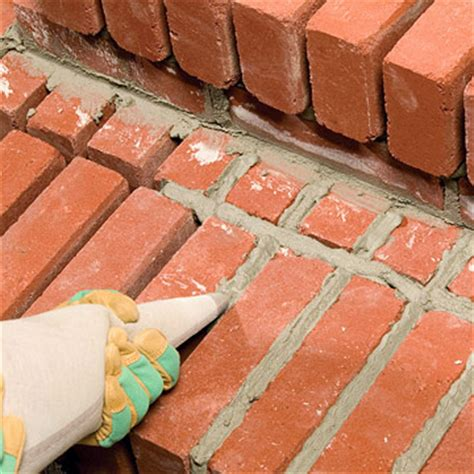 How To Regrout A Patio by Finishing Steps With Mortared Brick Sand Set Mortared