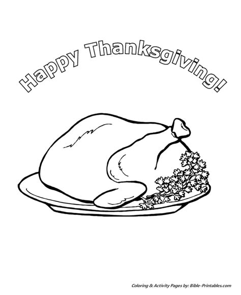 roast turkey coloring page free coloring pages of roast dinner