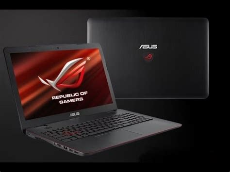 Laptop Gaming Asus Rog G551jw Cn319t laptops notebooks asus rog republic of gamers like new g551jw gaming laptop i7 16gb