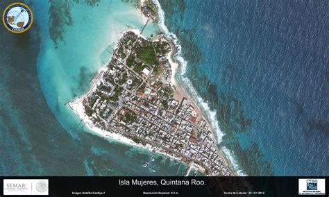 imagenes satelitales conabio imagen satelital de isla mujeres q roo