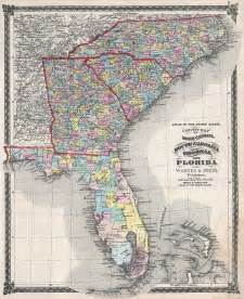 file 1874 beers map of florida carolina