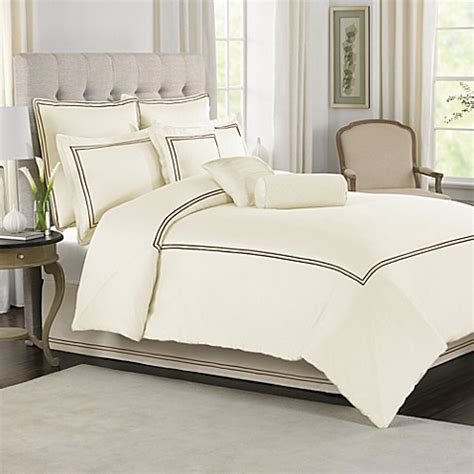 buy wamsutta 174 baratta stitch king comforter set in ivory