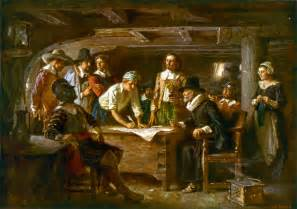 dark history of thanksgiving thanksgiving and pilgrim paintings and artwork