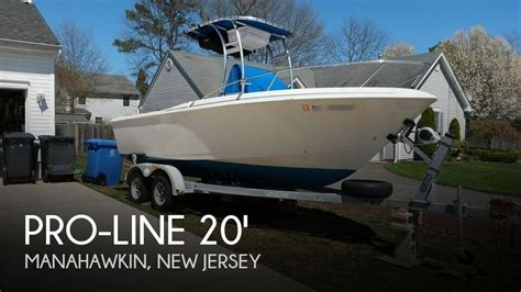 proline boats for sale in nj for sale used 1996 pro line 200 stalker in manahawkin new