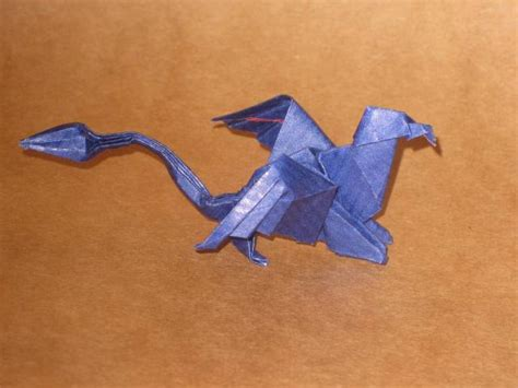 How To Make An Origami Griffin - origami gryphon by orimin on deviantart