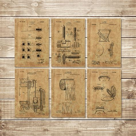 two it yourself bathroom wall art old picture frame to chalkboard bathroom art patent prints group of 6 toilet art print