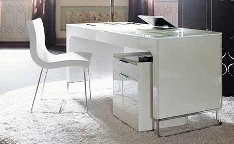 High Gloss White Corner Desk by Office Desks Office Desksworkstationspenda