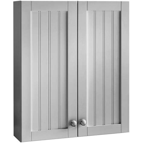 gray bathroom wall cabinet shop style selections 23 in gray ellenbee wall cabinet 23