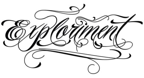 tattoo fonts loose cursive piel script font tattoomagz