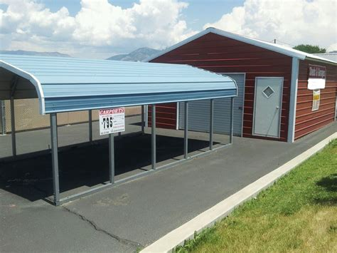 Car Port Shed by Metal Carports Buildings Garages Ebay