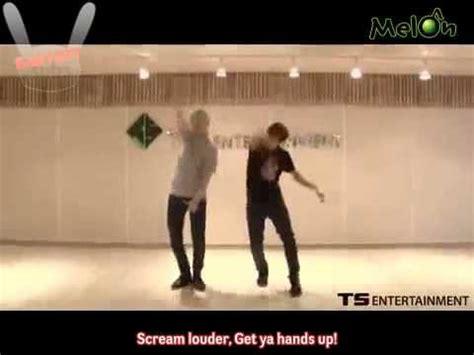 dance tutorial f x babyspysubs 120724 melon moon jongup zelo no
