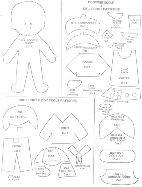 Brownie Girl Scout Coloring Pages Coloring Home Scout Brownie Coloring Page Free