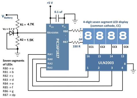 Schaltung Auto by Voltage Monitor For Car S Battery And Its Charging System