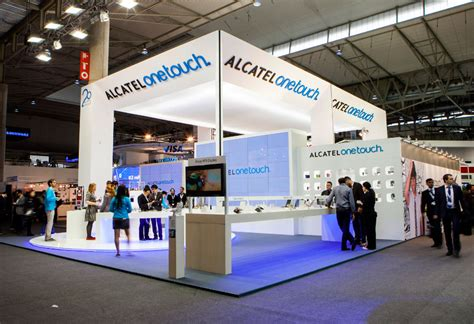 design event barcelona stands in mobile world congress