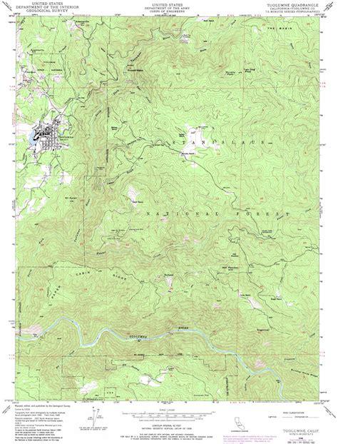 usgs topo maps california tuolumne topographic map ca usgs topo 37120h2