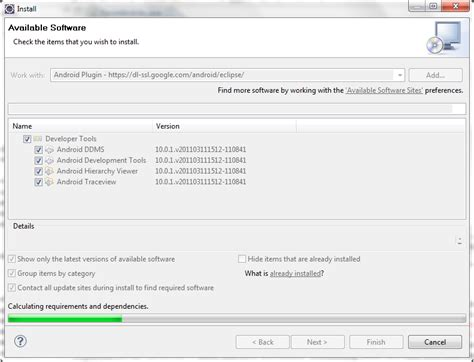 yii eclipse tutorial instalasi adt android development tools di eclipse